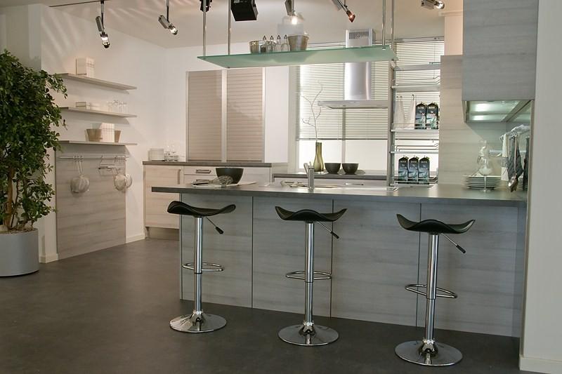Am nager une cuisine moderne effet bois structur for Cuisine bois clair moderne