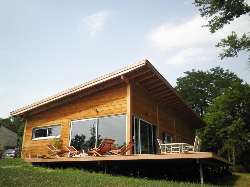 DURABILITE DANS LE TEMPS DE LA MAISON BOIS Mobilier, décoration, architecture C u00f4té Tendance  # Maison En Bois Paca