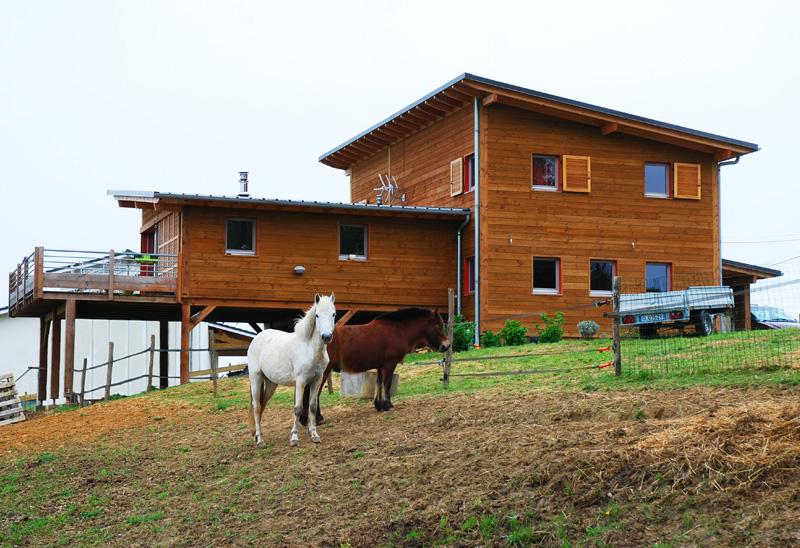construction maison bois approche 100 naturelle mobilier d 233 coration architecture c 244 t 233
