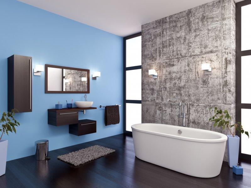Choix du sol et du carrelage pour une salle de bain contemporaine ...
