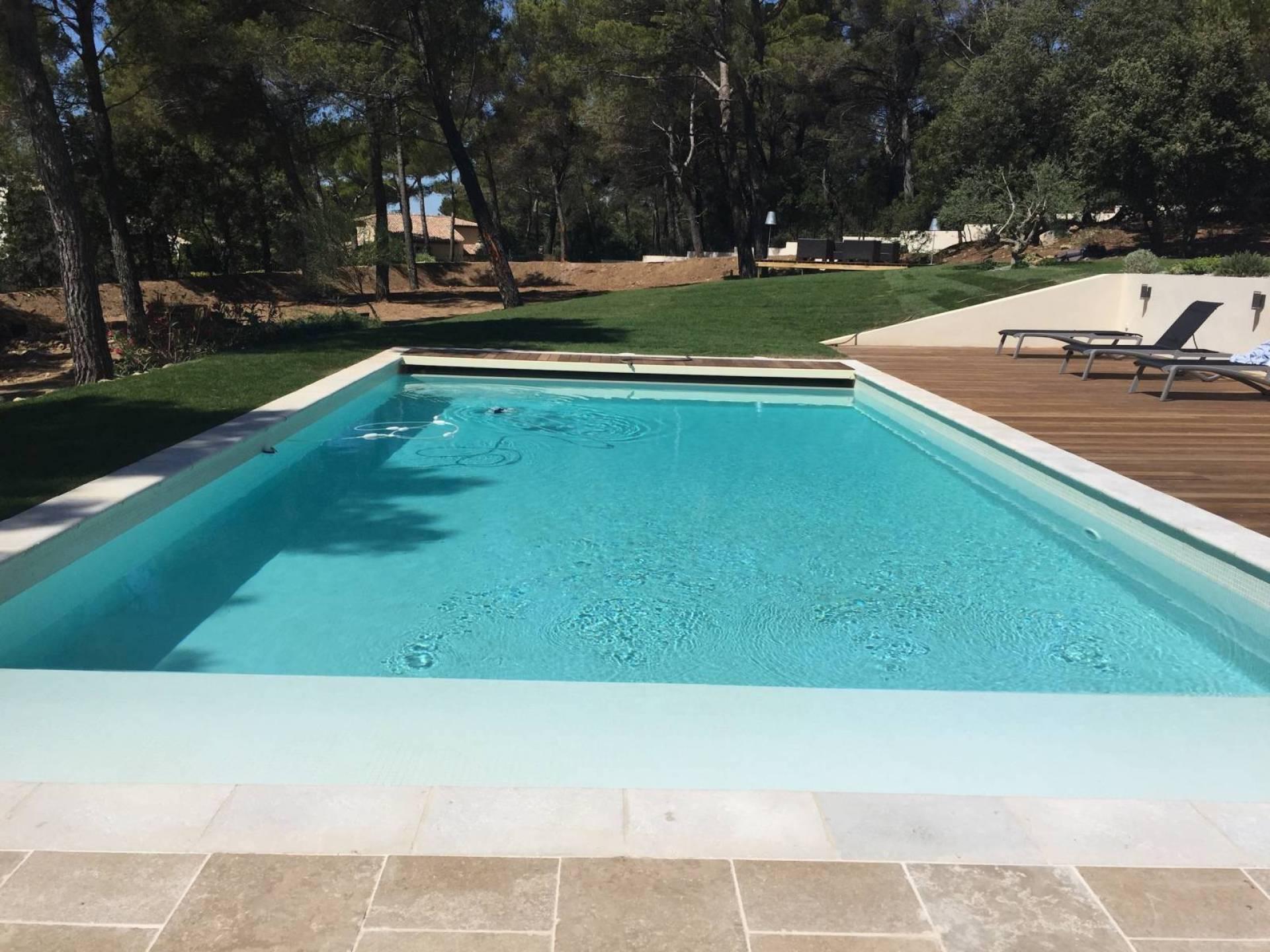 Am nagement ext rieur terrasse et piscine en paca mobilier d coration architecture c t - Piscine bassin exterieur aixen provence ...