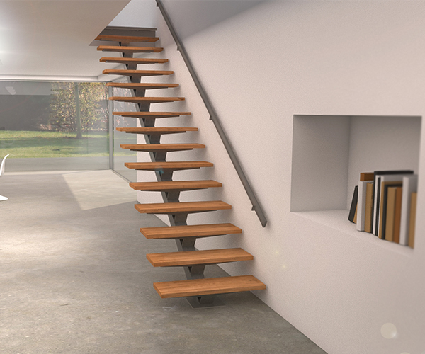 vente d 39 escaliers sur mesure en kit stairkaze mobilier d coration architecture c t. Black Bedroom Furniture Sets. Home Design Ideas
