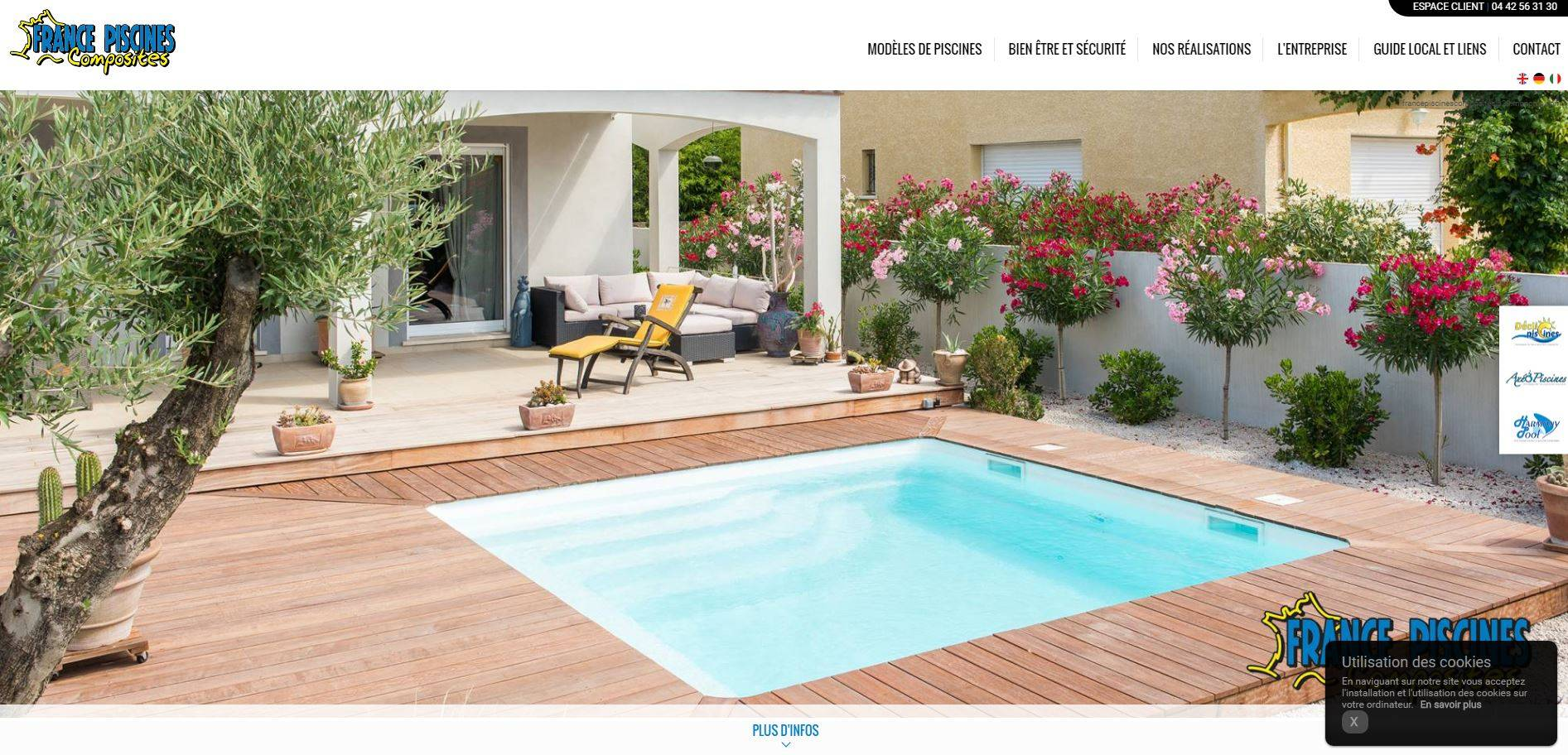 France piscine composite fabricant de piscine coque istres for Piscine fabricant