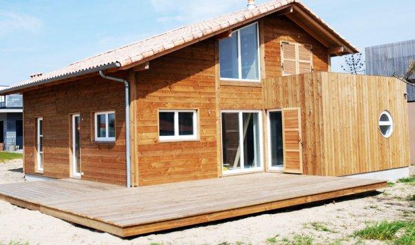 durabilite dans le temps de la maison bois mobilier d coration architecture c t tendance. Black Bedroom Furniture Sets. Home Design Ideas