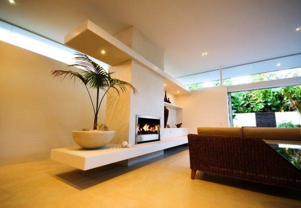 Mobilier d coration architecture c t tendance en for Decoration de cheminee avec insert