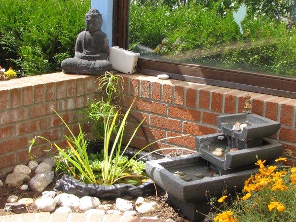 D coration int rieure exterieure c t tendance en paca for Creer un jardin zen